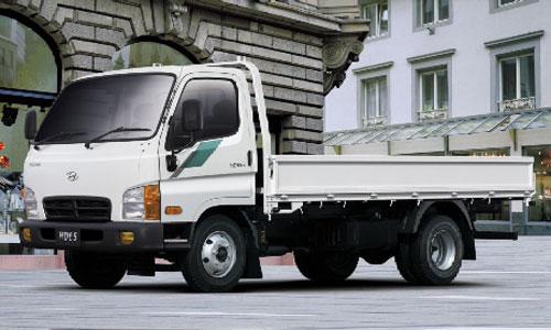 Xe Tải Hyundai 2t5 Thùng Mui kín